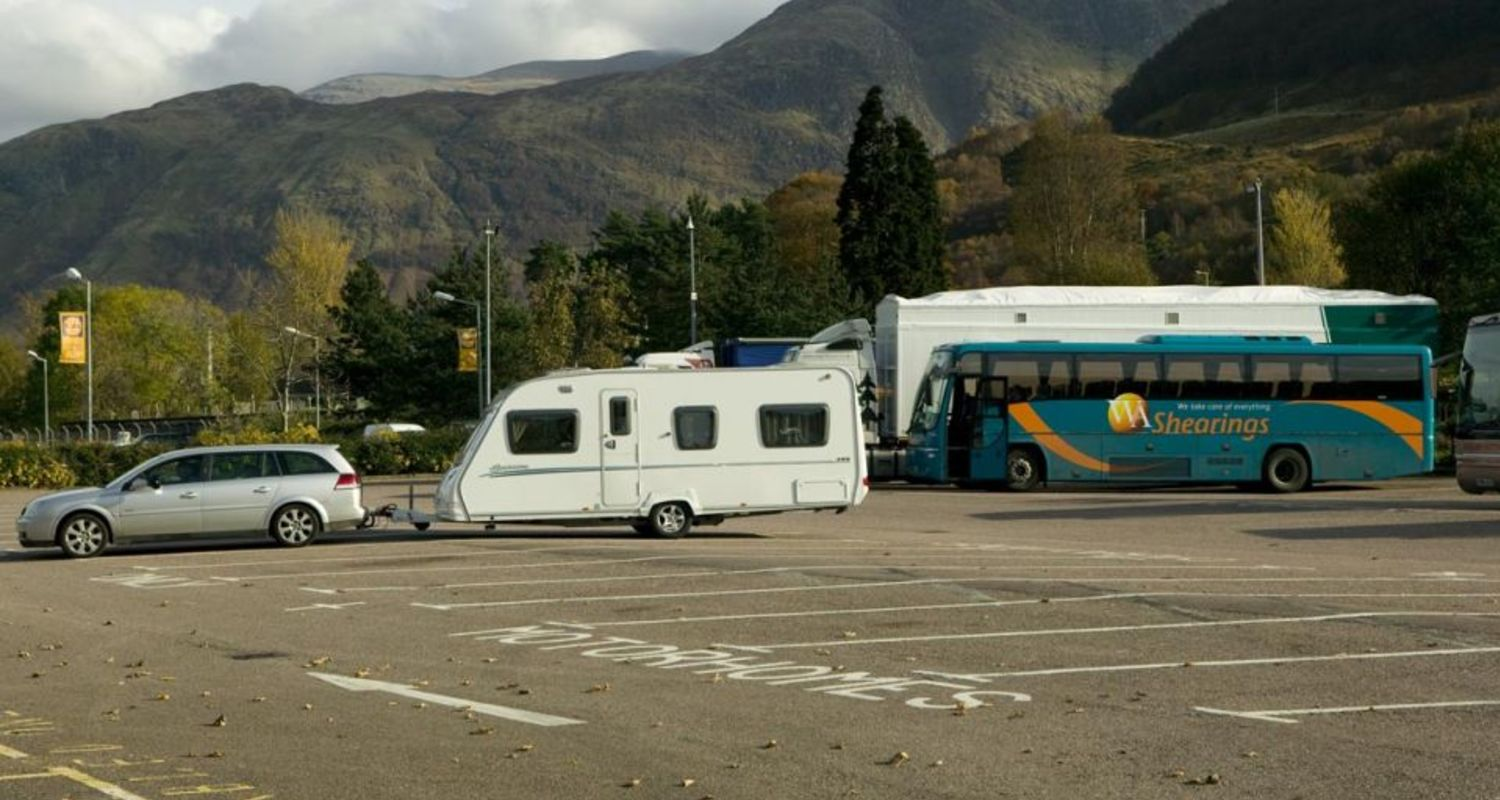 Car parking in Fort William