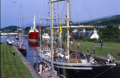 Tall Ship at Corpach