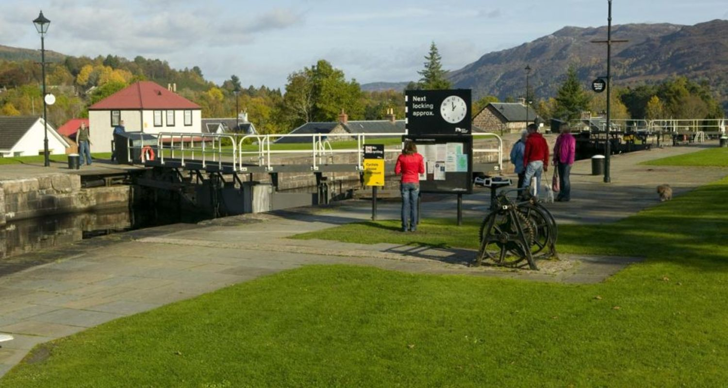 Picturesque Fort Augustus