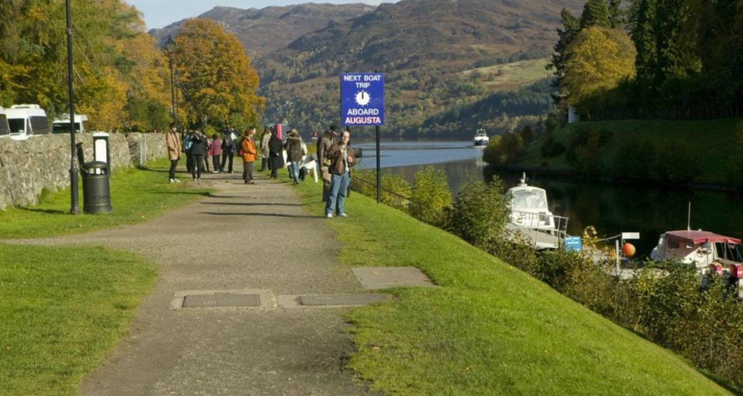 A glimpse of Loch Ness