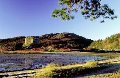Tioram Castle and Loch Moidart