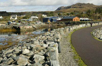 Arisaig Village from the Marina