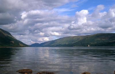 Loch Lochy in the Great Glen