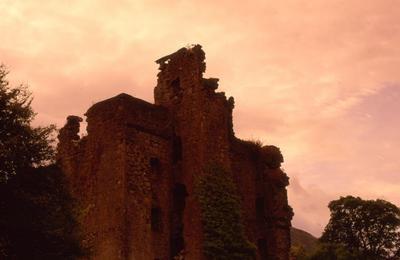 Glen Garry Castle Ruin