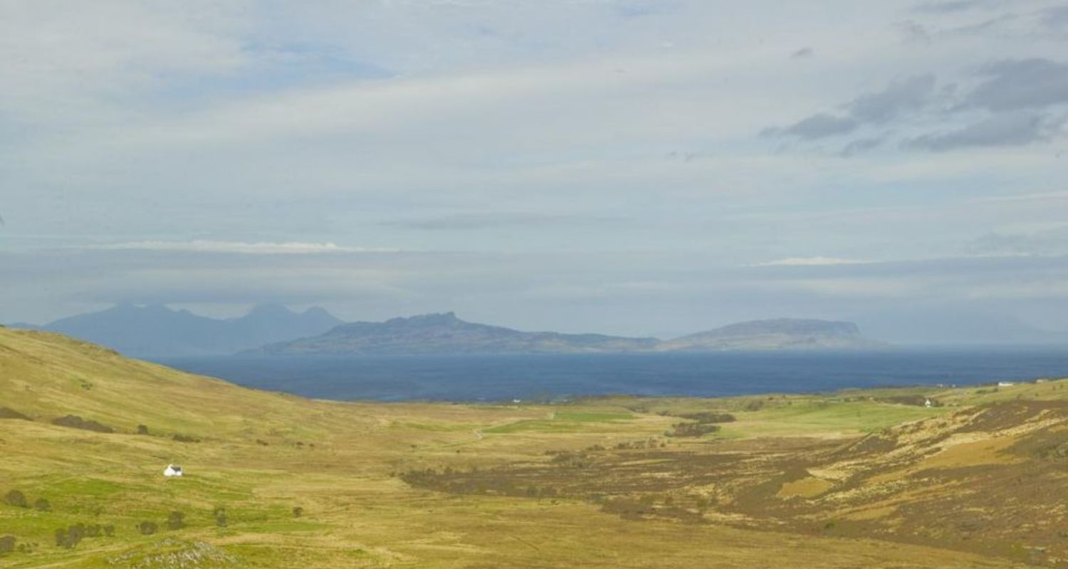Eigg and Rhum from Ardnamurchan