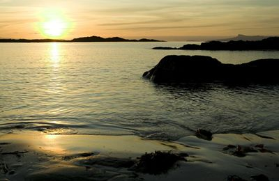 Sunset near Arisaig