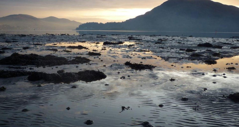 Low tide on Loch Linnhe