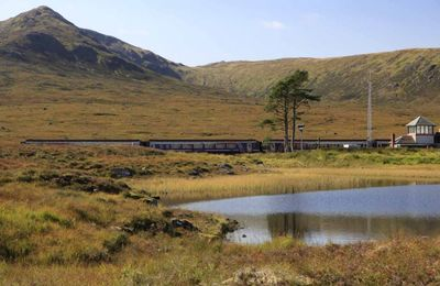 The Glasgow-Fort William train