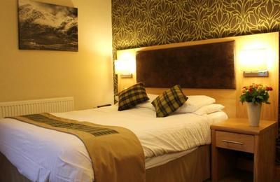 A room at the Clachaig Inn