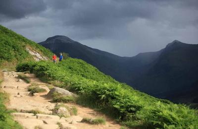 Glen Nevis mountains
