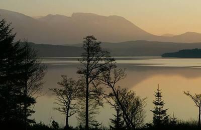 Loch Lochy and Ben Nevis