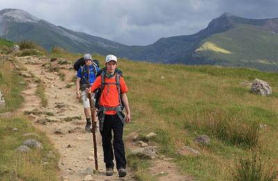 at the end of a great hike on Ben Nevis