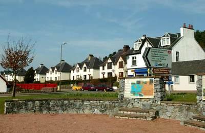 Corpach village