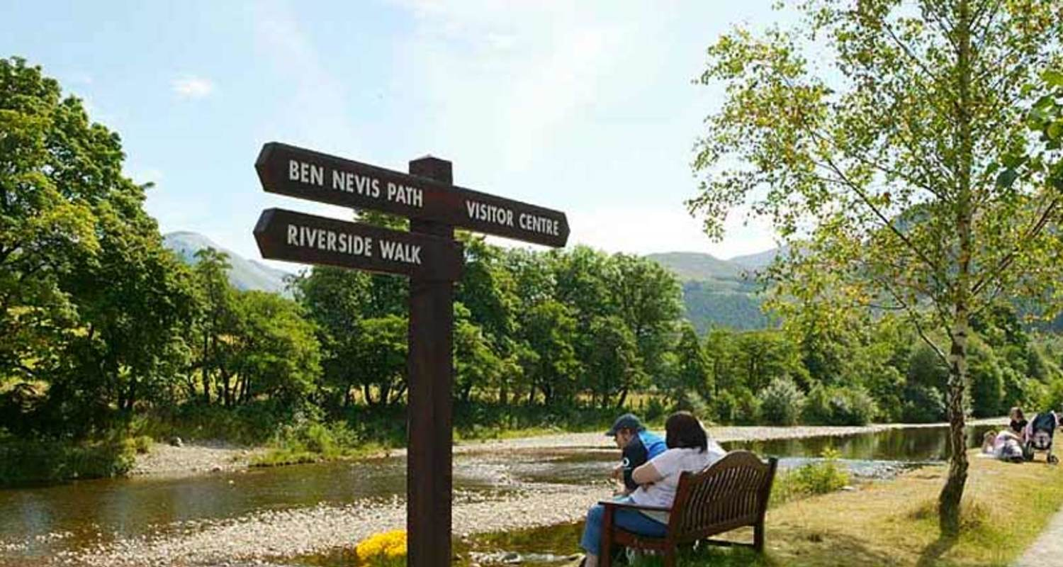 The way to Ben Nevis footpath