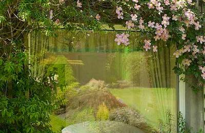 A garden window