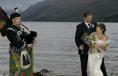 Romantic Highland Wedding