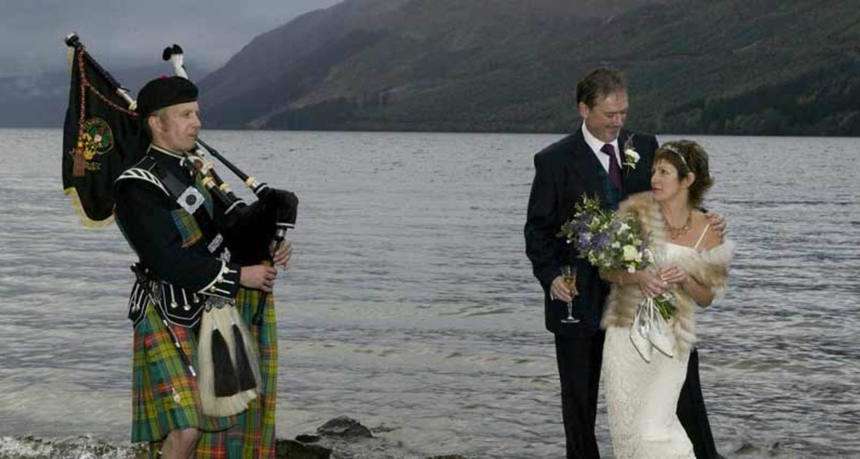 Romantic Highland Wedding