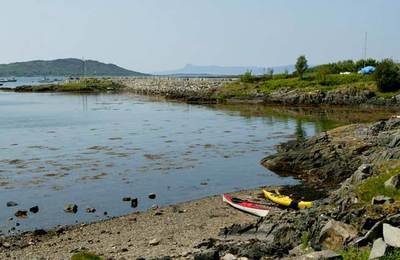 Kayaking Fort William