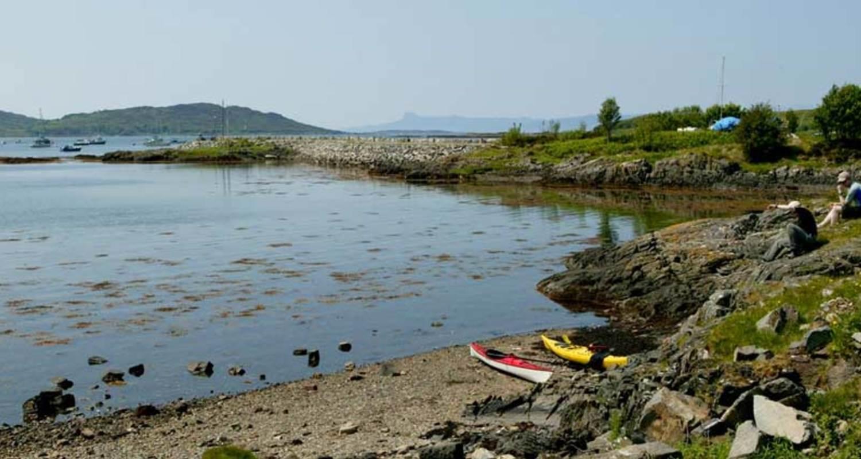 Kayaking Fort William