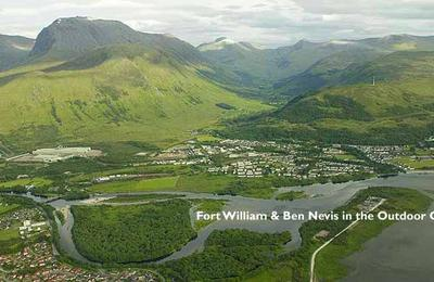 Fort William and Ben Nevis