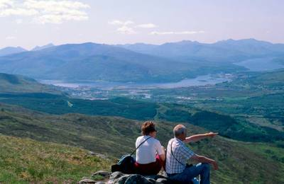 Sightseeing from Nevis Range