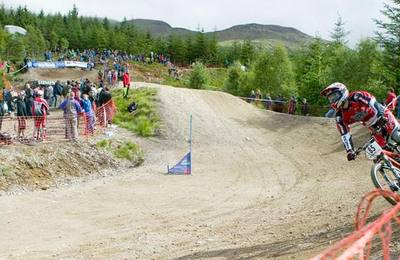 The 4X track at Fort William