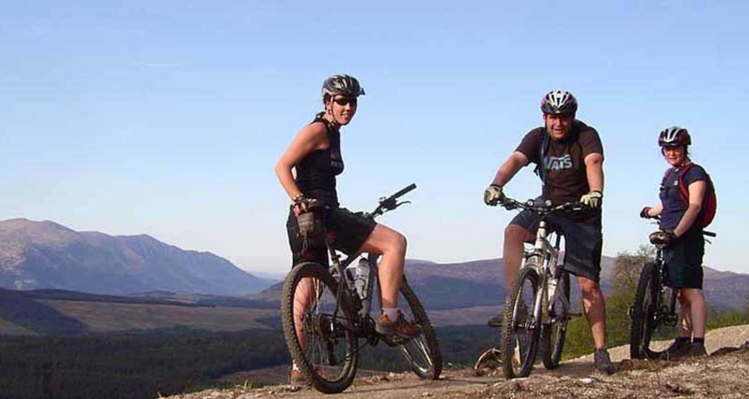 Mountain biking in the Great Glen