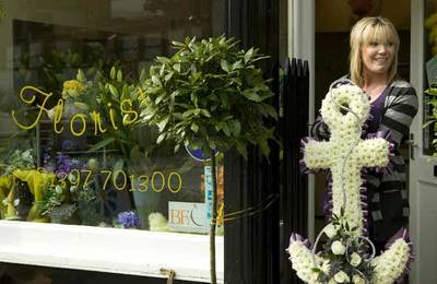 Fort William florist shop