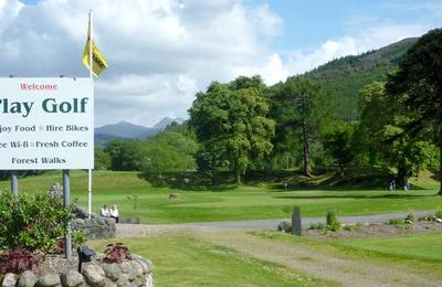 Play golf in Lochaber