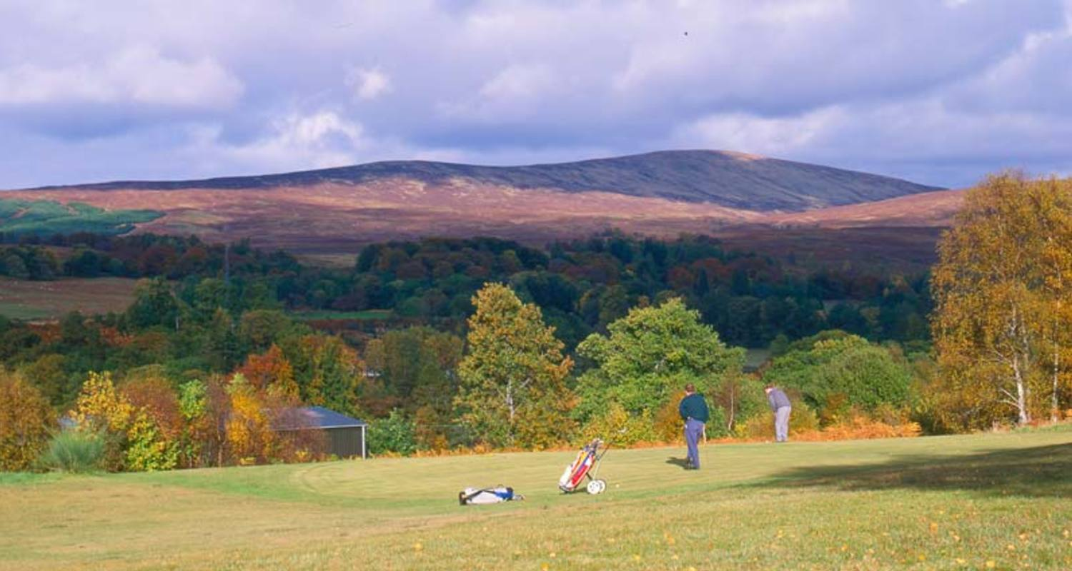 Golfing at Spean Bridge