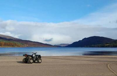 Loch Laggan beach