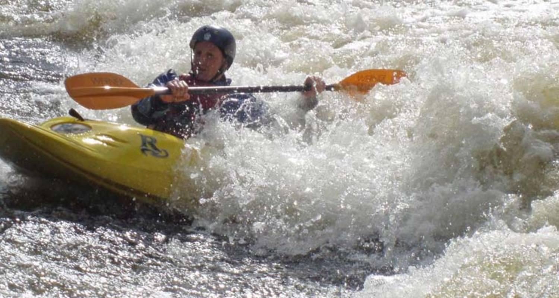Paddle in Fort William
