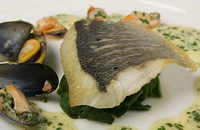 Fresh Scottish seafood