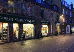 One of Fort William's specialist retail gift shops - we have lots of quality souvenirs and a great selection of Scotch whisky - in miniature bottle...