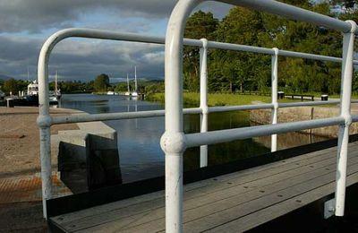 A Canal lock gate