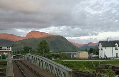 The railway and Ben Nevis