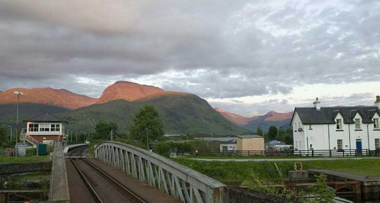 The railway and Ben Nevis