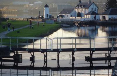 Lock Gates at Corpach