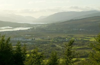 Fort William from Leannachan Forest