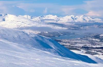 Stunning winter views