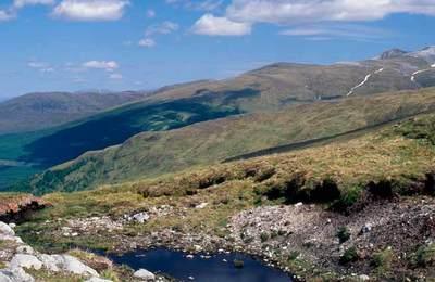 Beautiful natural mountain scenery