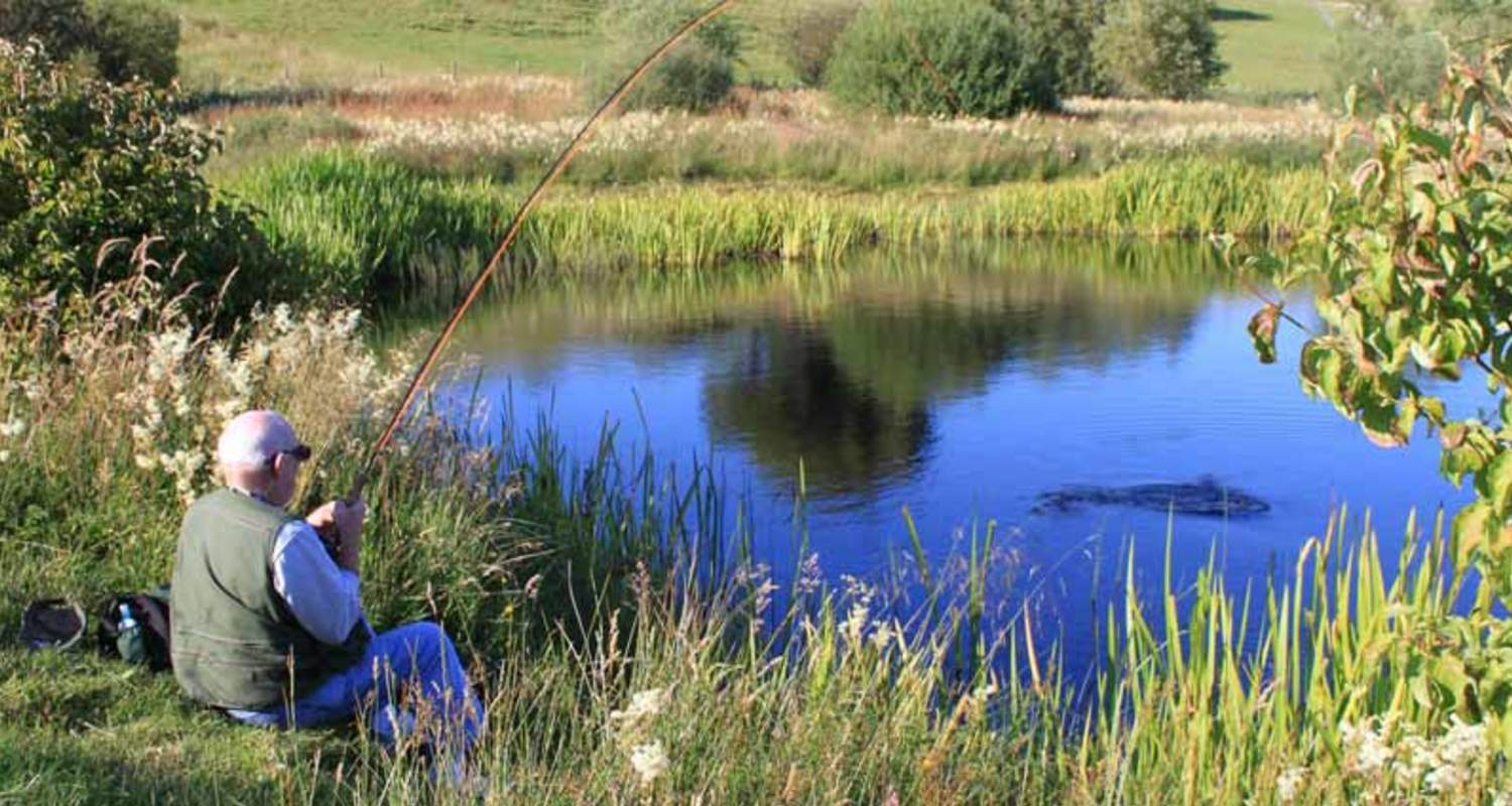 Trout fishing at Torlundy Farm