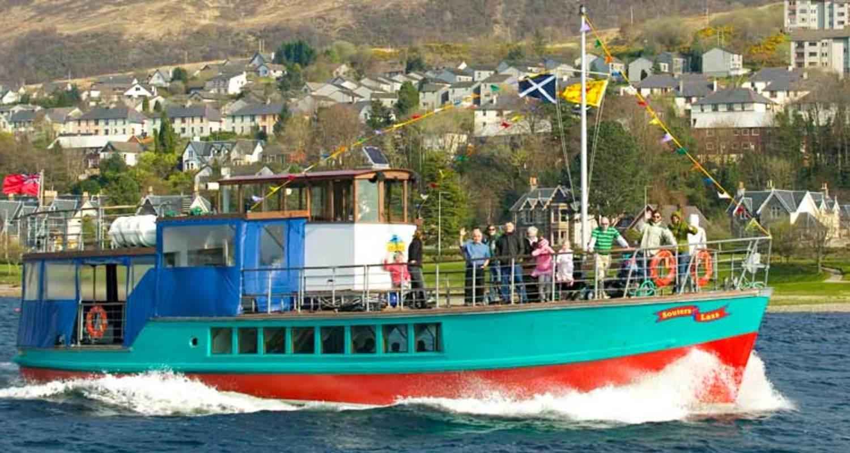 Souter's Lass on Loch Linnhe
