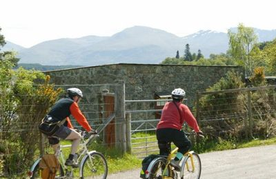 Cycling in the Great Glen