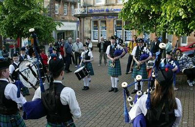 Pipe Band performances
