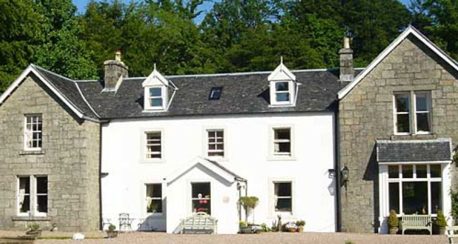 Typical small Highland hotel