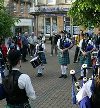 <div>Come and listen to the sounds of Lochaber Schools Pipe Band as they play a selection of traditional tunes for yo...