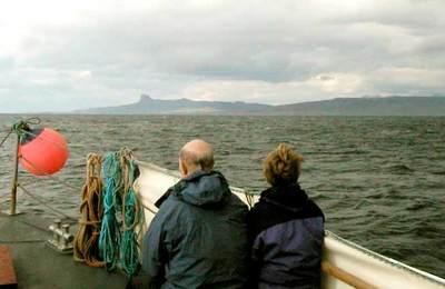 Onboard the Shearwater