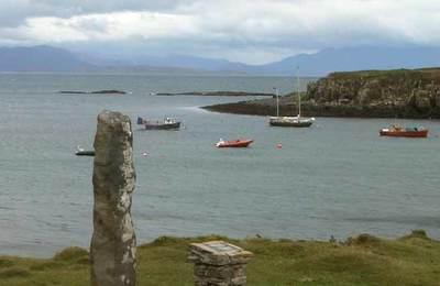 Scottish mainland from Eigg