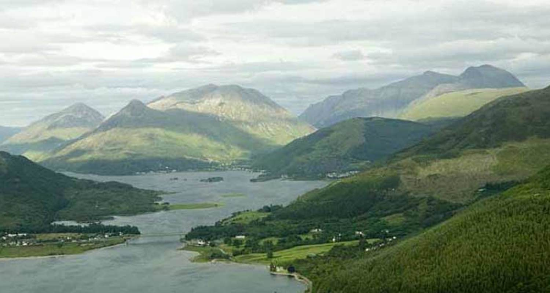 Aerial view of Glencoe